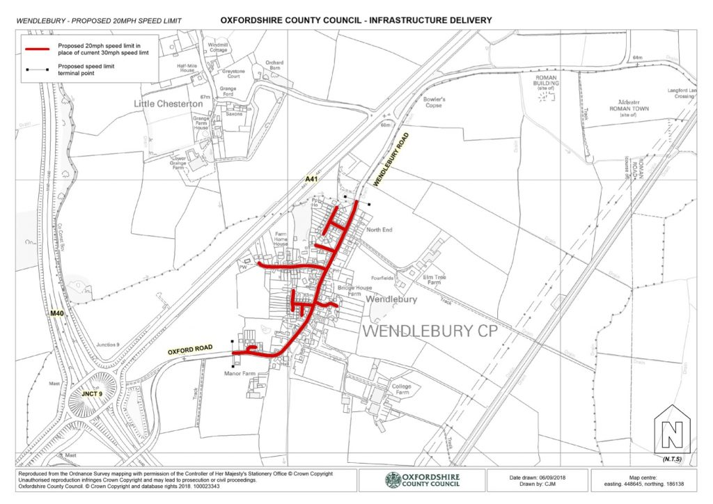 Wendlebury 20mph Zone - CONSULTATION PLAN