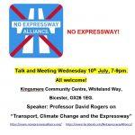 Expressway Talk Poster July 19