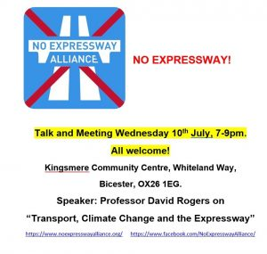Expressway Talk Poster July 19