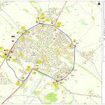 Howes Lane Closure Map